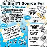 Certified Diamond Sales Sample Ad