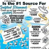 Certified Diamond Sales Sample Ad