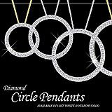 Diamond Circle Pendant Sample Postcard