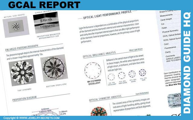 GCAL Light Performance Diamond Report!