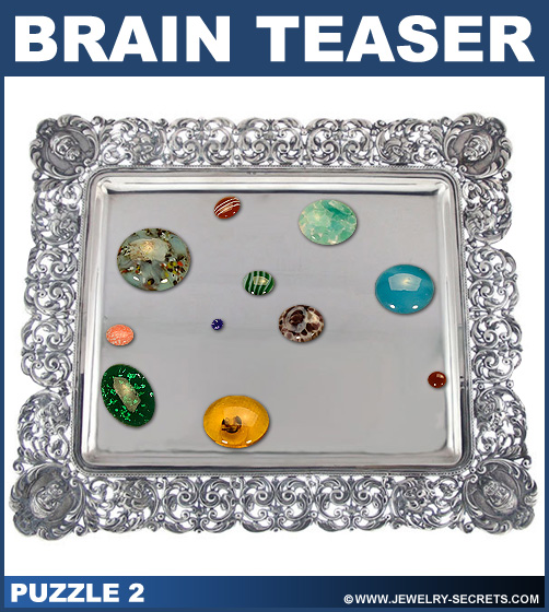 Split Gemstone Brain Teaser Puzzle 2