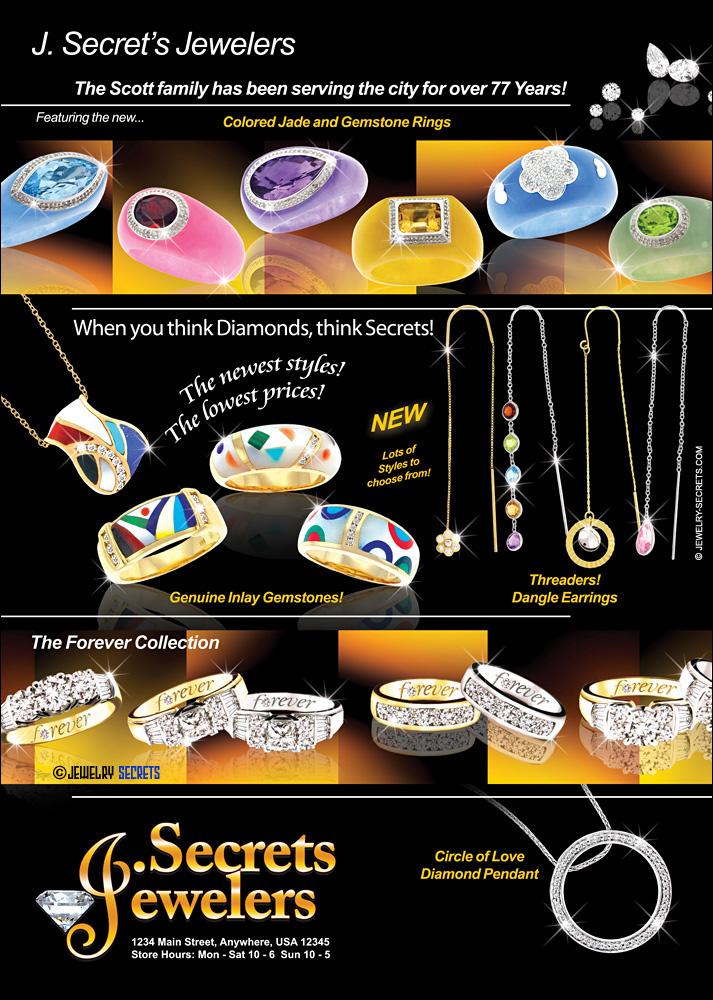 Gemstones and Diamonds Sample Advertisement