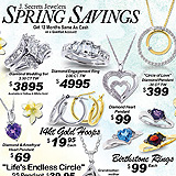 Gold and Diamond Savings Sample Ad