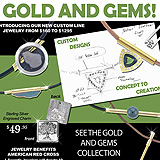Gold and Gems Sample Ad