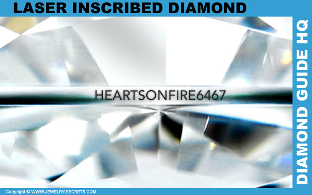 Hearts On Fire Laser Insribed Diamond!