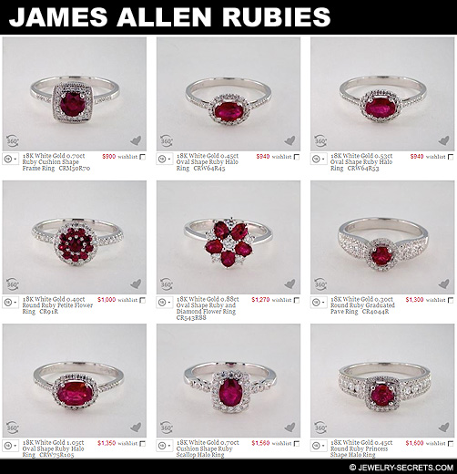 James Allen Rubies!