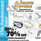 Jewelry Store Anniversary Sale Sample Ad