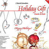 Jewelry Christmas Catalog Cover Sample Ad