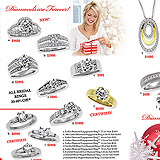 Jewelry Christmas Catalog Pages 4-5 Sample Ad