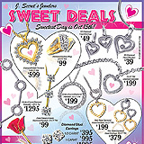 Jewelry Sweetest Day Sample Ad