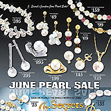 June Pearl Sale Sample Ad