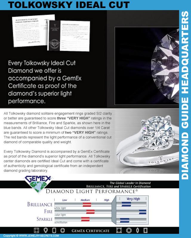 Kay Jewelers Tolkowsky Ideal Diamond!