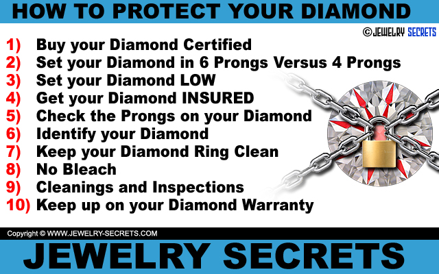 10 Easy Ways to Protect Your Diamond and Ring