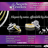 Limousine Service Jewelry Sample Ad