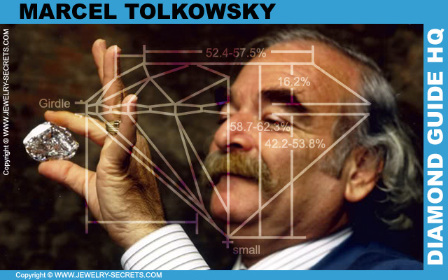 Marcel Tolkowsky Invented the Ideal Cut Diamond!