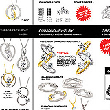 Million Dollar Diamond Event Sale Front Page Sample Ad
