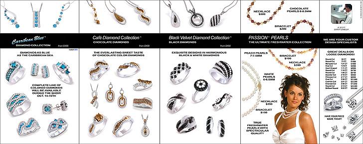 Million Dollar Diamond Sale Event Back Page Sample Advertisement