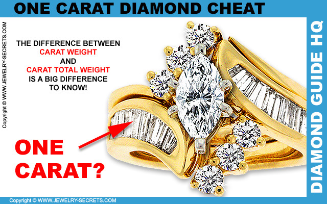 One Carat Diamond Ring Cheat