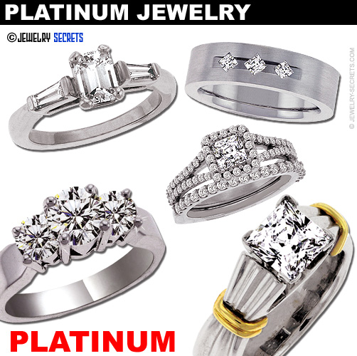The Differences In White Metals Jewelry Secrets