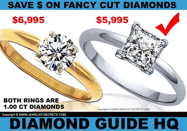 Save Money on Fancy Cut Diamonds!