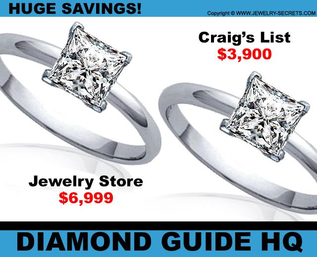 Second Hand Diamonds are Cheaper!