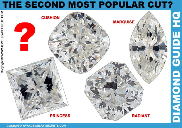 Second Most Popular Cut of Diamond?