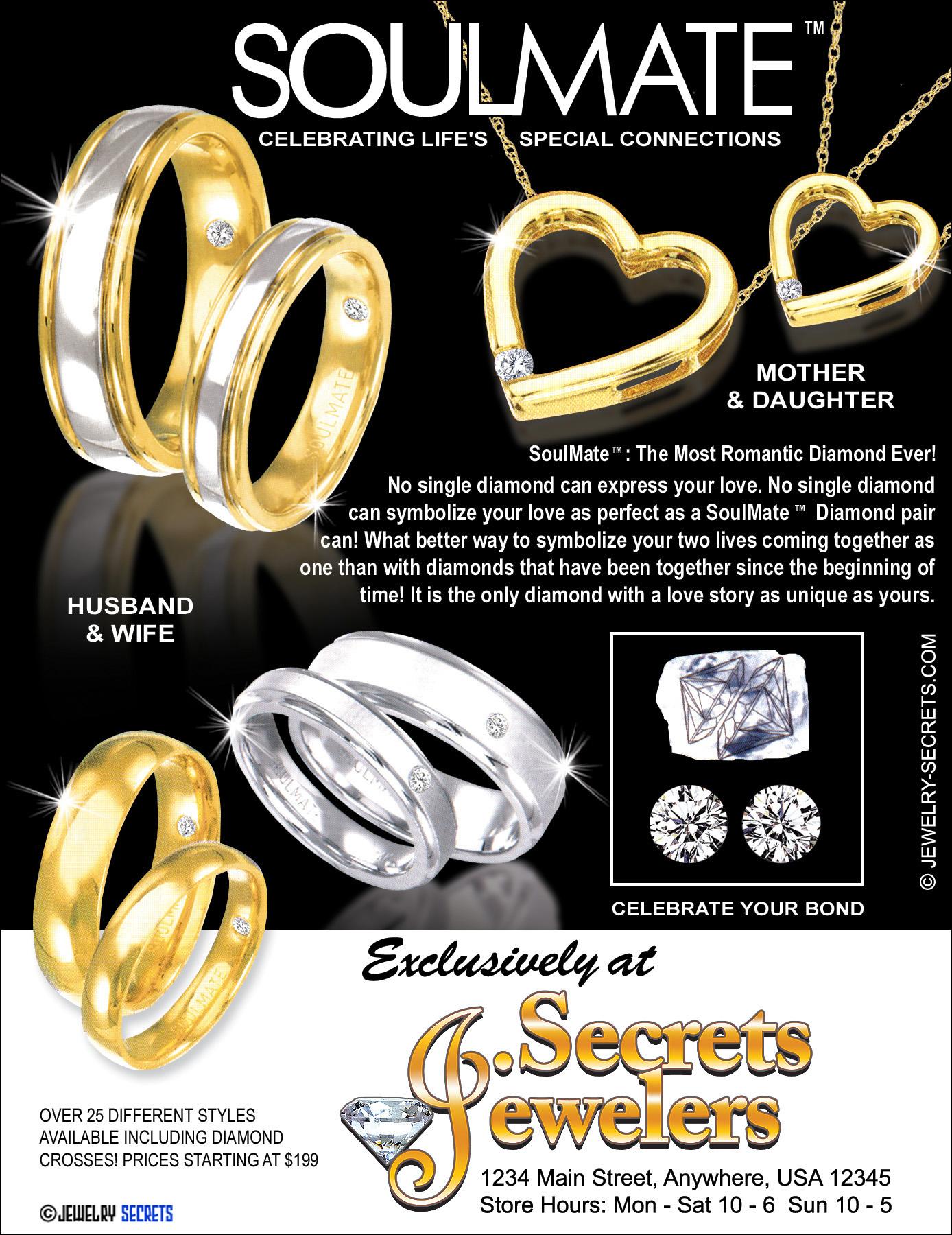 Valentine S Day Jewelry Sample Advertisement Jewelry Secrets