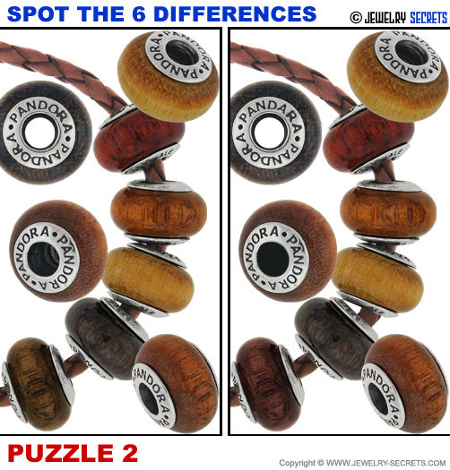 Spot The 6 Differences Fun Jewelry Puzzle 2