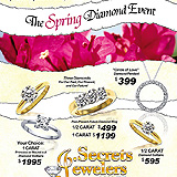 Spring Diamond Event Sample Ad