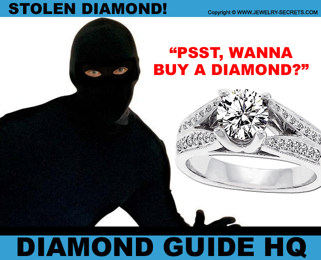 Stolen Second Hand Diamonds!