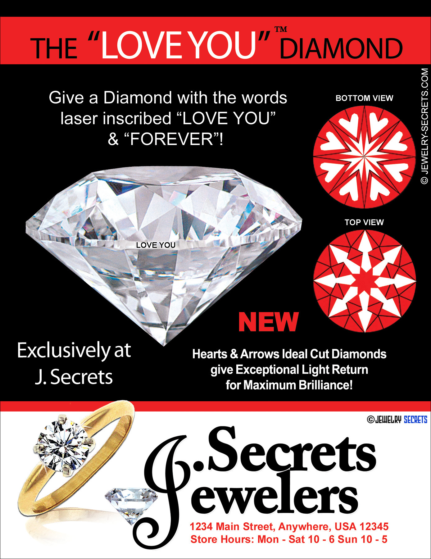 The Love You Amp Forever Diamond Sample Advertisement