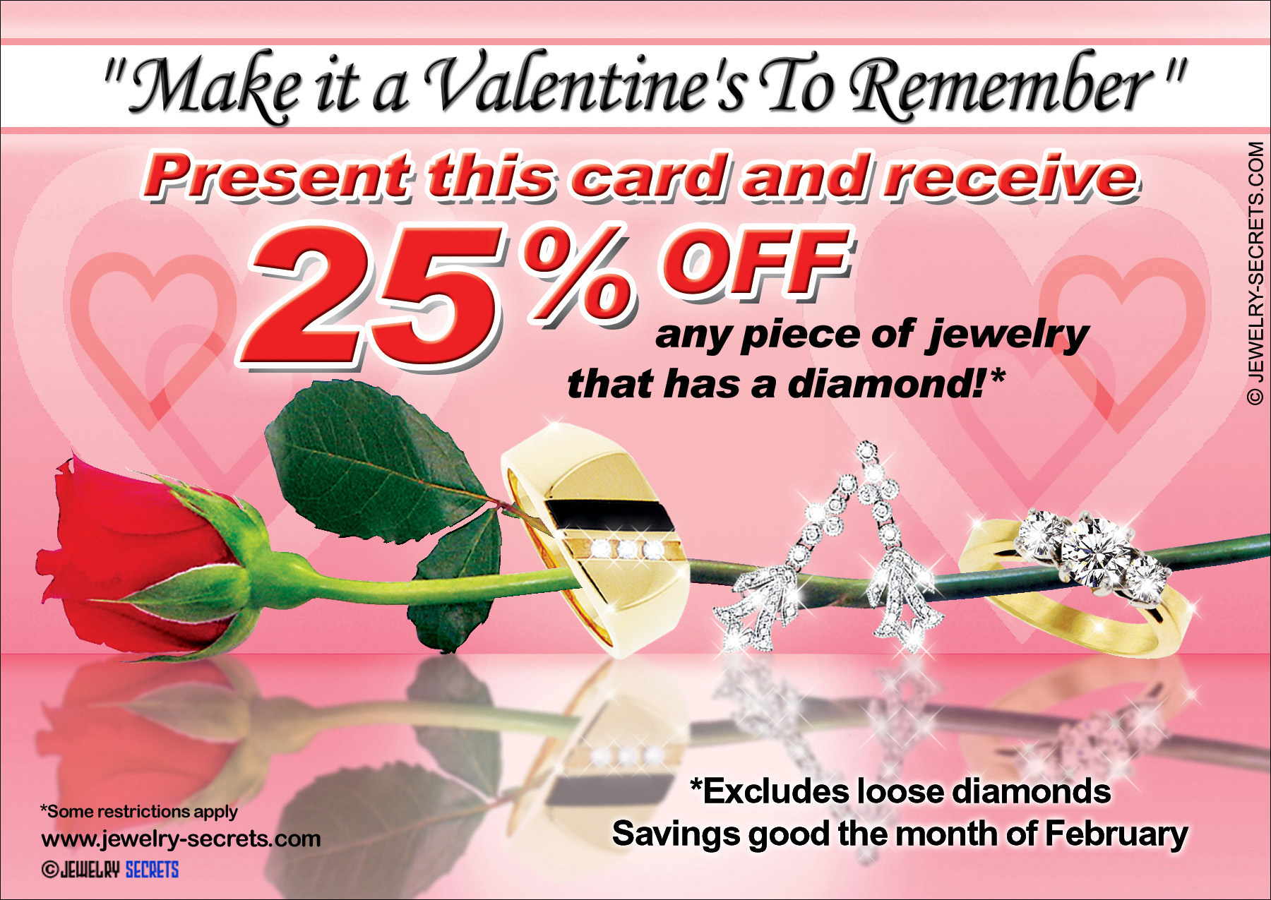 Valentine S Day Jewelry Sample Advertisement Jewelry Secrets