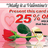 Valentine's Day Jewelry Sample Ad