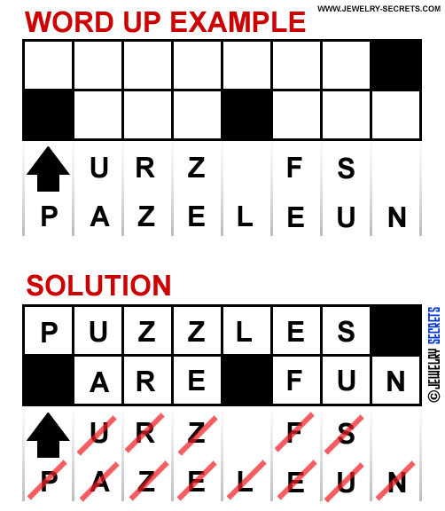 Word Up Puzzles Are Fun