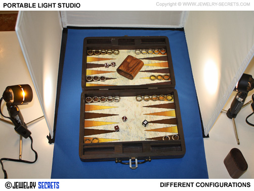 Different Light Studio Configurations