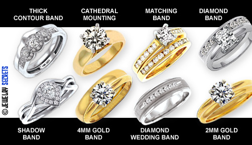 Different types of Wedding Bands!
