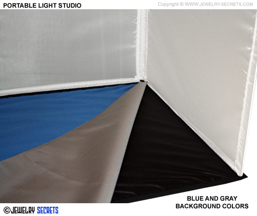 Dual Colored Light Studio Background