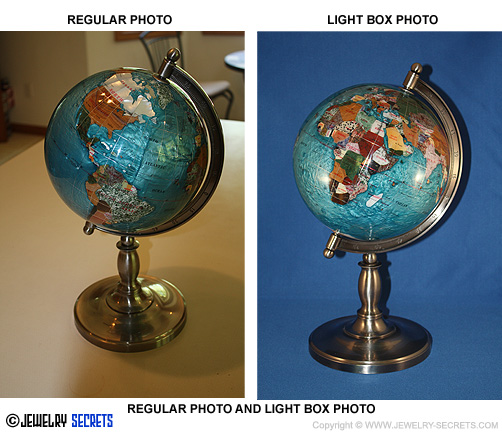 Gemstone Globe Comparison