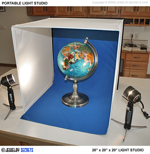 Large 20 Inch Lighting Studio