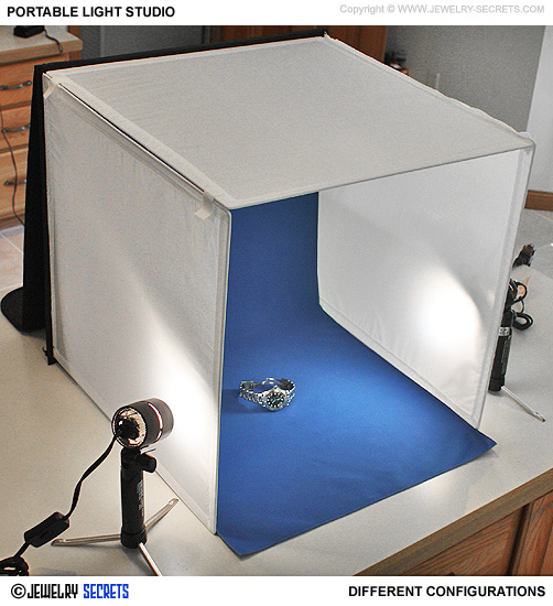 20 photo light tent studio for jewelry jewelry secrets. Black Bedroom Furniture Sets. Home Design Ideas