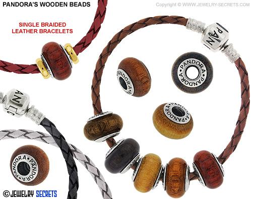 Pandora's Wood Beads and Bracelets!