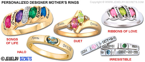 Personalized Mother's Rings!