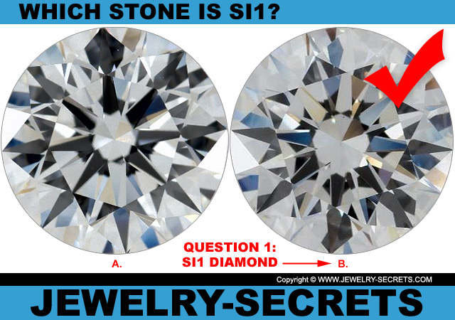 Answer 1 SI1 Clarity or Flawless Diamond?