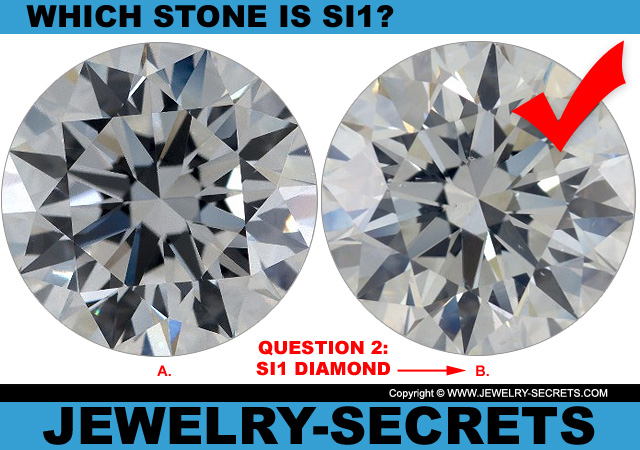 Answer 2 SI1 Clarity or Flawless Diamond?