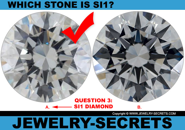 Answer 3 SI1 Clarity or Flawless Diamond?