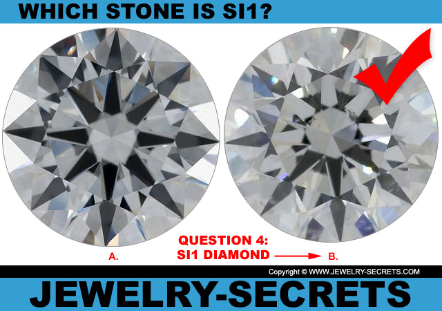 Answer 4 SI1 Clarity or Flawless Diamond?