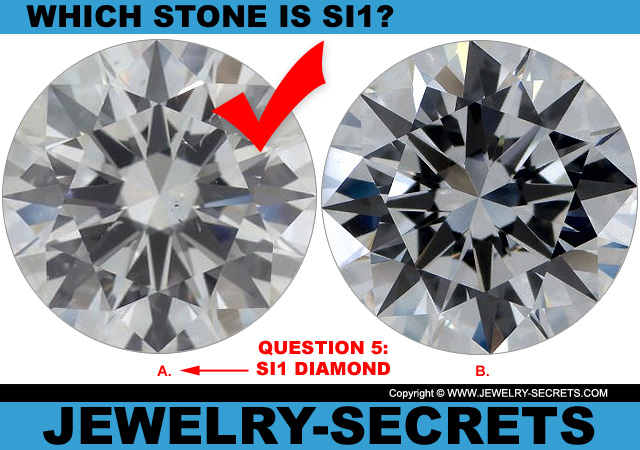 Answer 5 SI1 Clarity or Flawless Diamond?