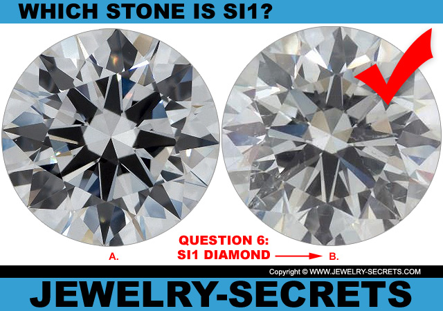 Answer 6 SI1 Clarity or Flawless Diamond?