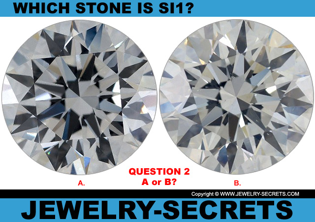Questions 2 SI1 Clarity or Flawless Diamond?
