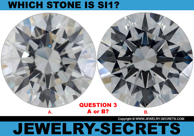Questions 3 SI1 Clarity or Flawless Diamond?